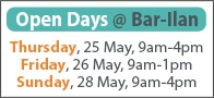 dates of open days - May 2017